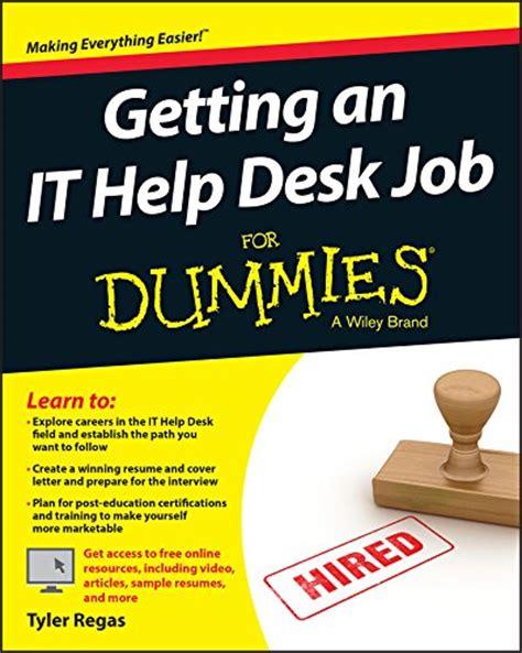 Help Desk For Dummies getting an it help desk for dummies for dummies computers free ebooks