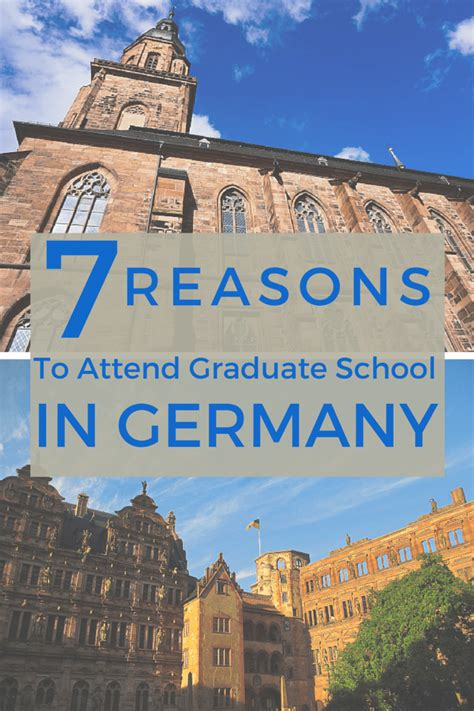 7 Reasons To Travel To Germany by 7 Reasons To Attend Graduate School In Germany