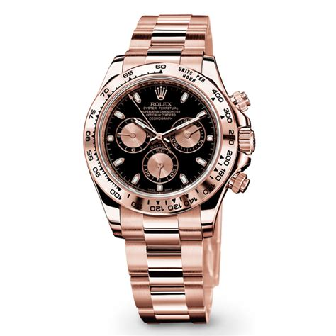Rolex Ls20 Rosegold rolex cosmograph daytona 116505 gold black and pink world s best