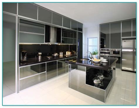 Aluminium Kitchen Designs Aluminium Kitchen Cabinet Design In Malaysia