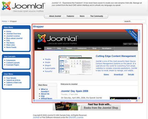 layout menu joomla joomla page layout