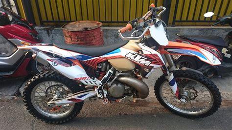 Jual Alarm Motor Bisa Starter jual motor trail ktm 250 xc tahun 2013 kondisi bekas