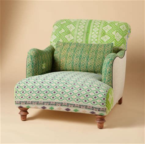 eclectic armchair one of a kind benazir sari armchair eclectic armchairs