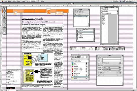 layout menu in pagemaker page layout applications