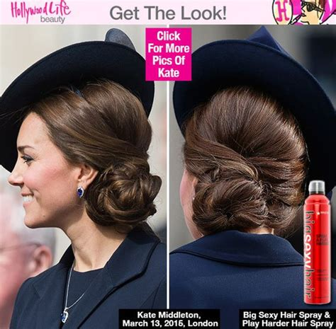 how to do royal hairstyles kate middleton s twisted updo at military service event