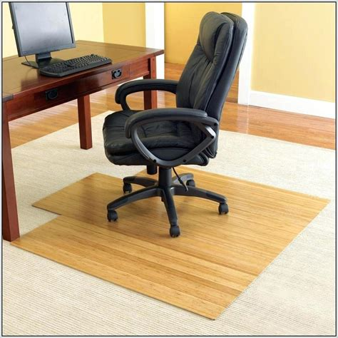 Bamboo Desk Chair Floor Mat by Bamboo Office Chair Mat Staples Office Chairs