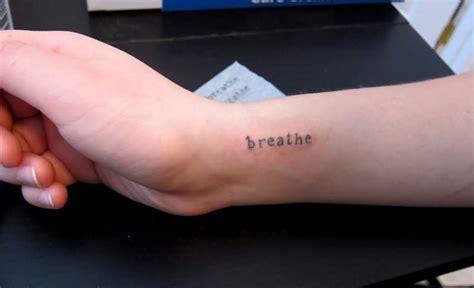 tattoo on side wrist 20 cool wrist breathe tattoos