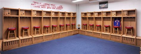 sports lockers for rooms wood sports locker installations by all wood lockers