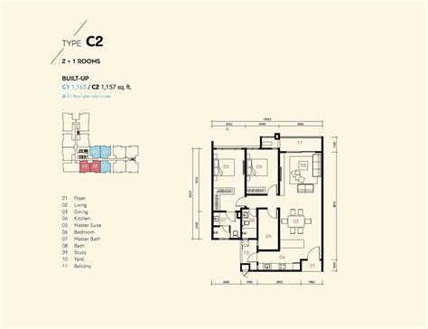 deckplan prima new development prima harmoni 2 by harmony property sdn