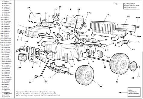 deere gator parts diagram deere gator revised igod0004 igod0033 parts