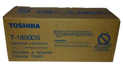 Toner Toshiba T 1800ds toshiba t 1800ds 10000 page yield black photocopier toner