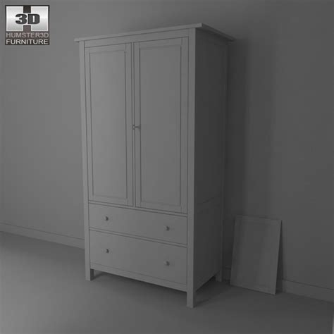 ikea wardrobes review ikea hemnes wardrobe 3d model humster3d
