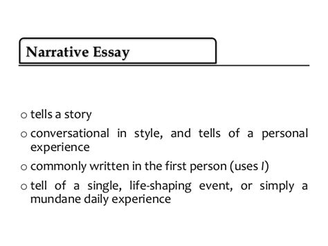 Types Of Essay by Essay Writing 5th Types Of Essay