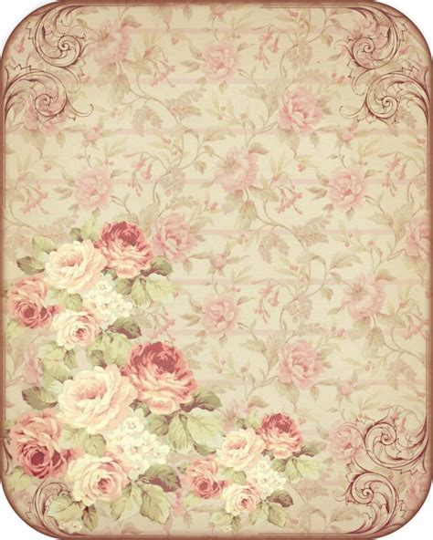 Free Background Papers For Card - 25 best ideas about vintage roses on