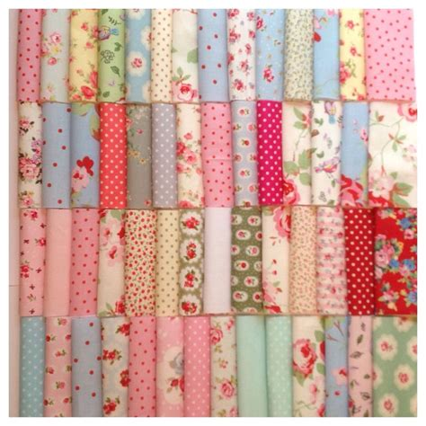 Patchwork Quilting Fabric - 50 or 100 patchwork quilting fabric squares inc cath