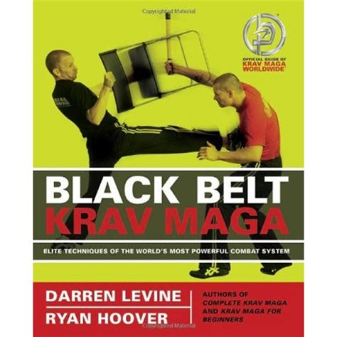 the black belt abc s books krav maga black belt book