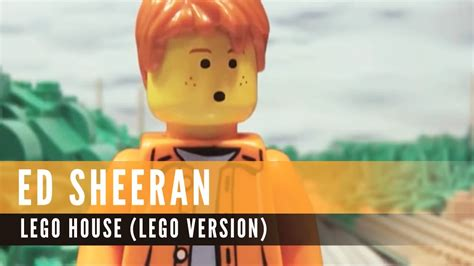 ed sheeran lego house ed sheeran lego house lego version youtube