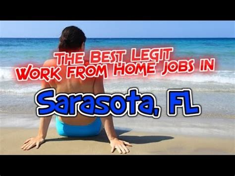 the best work from home in sarasota fl florida