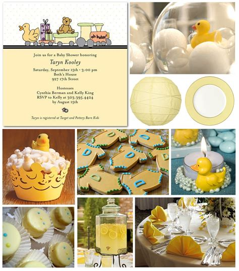 Yellow Duck Baby Shower Decorations by Ducky Baby Shower Ideas Babywiseguides