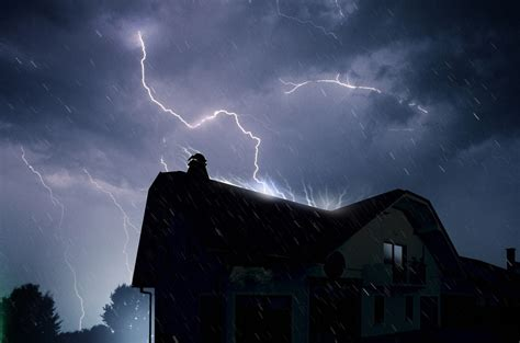 what happens if lightning strikes a house what happens if lightning strikes your roof knockout roofing