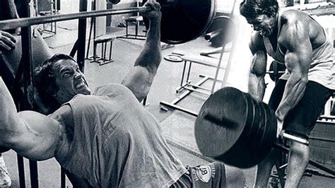 arnold schwarzenegger bench press workout arnold schwarzenegger diet and workout plan in the 70 s broscience