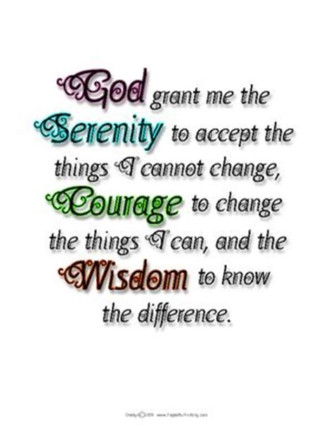 printable version of the serenity prayer free printable the o jays and serenity prayer on pinterest