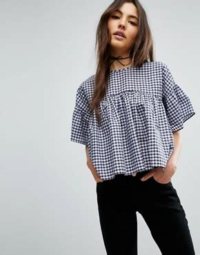 Asos Swing Top In Crinkle blouses s shirts blouses camisole tops asos