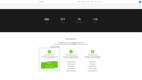 bootstrap themes unify typo3 neos demo with unify bootstrap template youtube