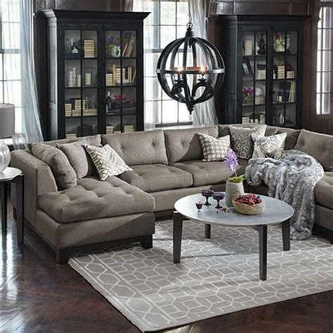 arhaus garner sectional 17 best images about home design on pinterest