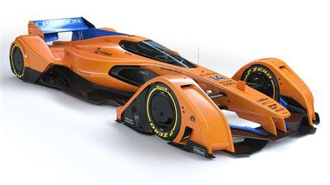 Mclaren X2 2018 Concept F1 Car Racing