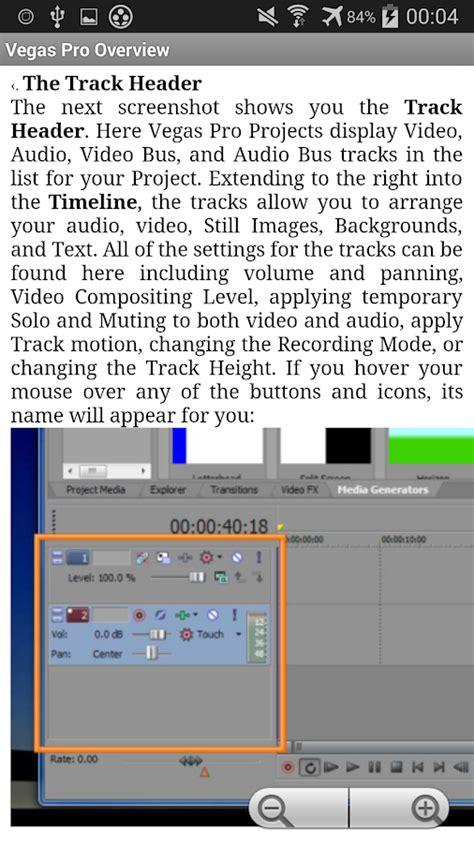 tutorial instal vegas pro free sony vegas pro tutorials android apps on google play