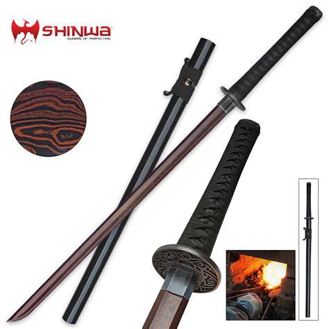 Japanese Steel Kitchen Knives shinwa black emperor katana sword damascus steel