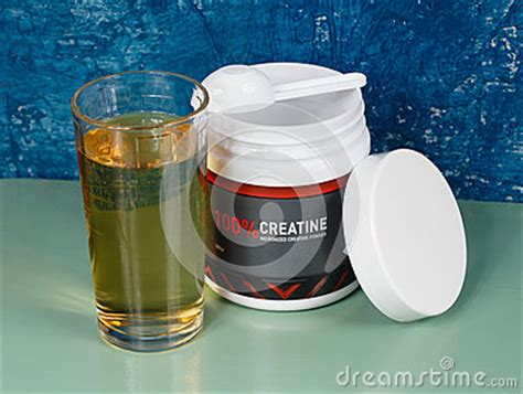 creatine juice sports nutrition creatine and grape juice stock photo
