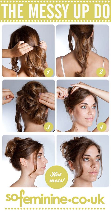 how to do a updo 1 gather two front sections to keep and tie the rest of the hair