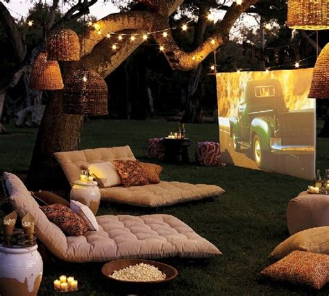 backyard movie theater diys for my dream backyard