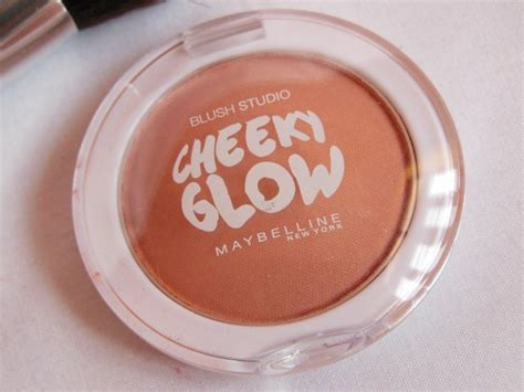 Maybelline Blush On Cheeky Glow maybelline cheeky glow blush cinnamon review swatch fotd fashion lifestyle