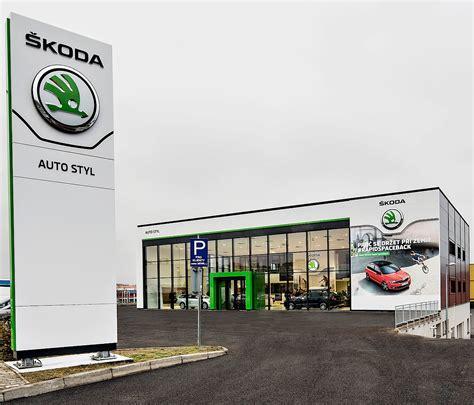 skoda car showroom skoda reveals new dealer showroom design autoevolution