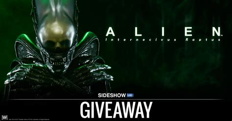Alien Giveaway - sideshow live alien statue giveaway sideshow collectibles