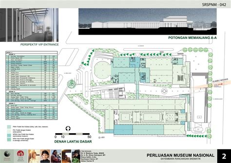 design competition indonesia expansion of national museum of indonesia schematic