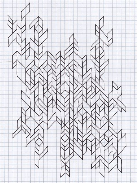 pattern paper grid untitled graph paper doodles and drawings