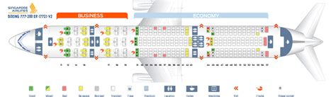 seating plan boeing 777 200 seat map boeing 777 200 singapore airlines best seats in
