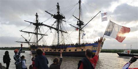 hermione bateau voyage l hermione de retour 224 rochefort quot le bateau le plus