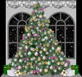 candele virtuali gif natale alberi di natale