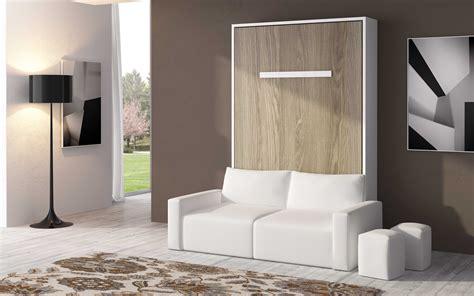 armoire lit escamotable avec canape armoire lit escamotable verticale canap 233 coffre espacia 90