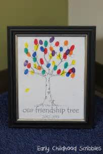 friendship tree template early childhood scribbles social skills being a friend