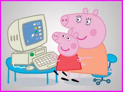 imagenes niños usando computadoras im 225 genes de los dibujos animados de pepa pig la cerdita