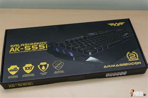 Keyboard Kalashnikov Ak555i armaggeddon kalashnikov ak 555i gaming keyboard review pokde