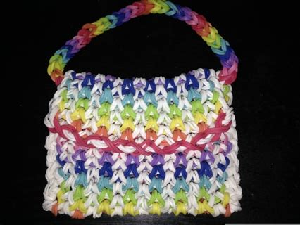 Rainbow Gift Card - free rainbow loom gift card holder purse other craft items listia com auctions