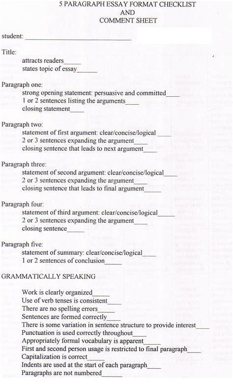 Five Paragraph Essay by Five Paragraph Essay