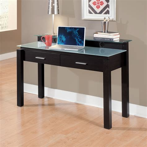 desks home office furniture crescent desk value city furniture